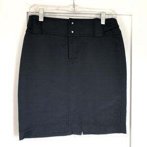 A/X Armani Exchange Black Pencil Skirt